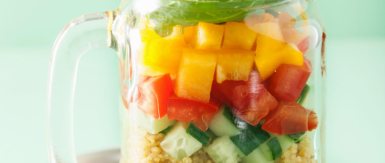 Bio-Quinoa-Salat