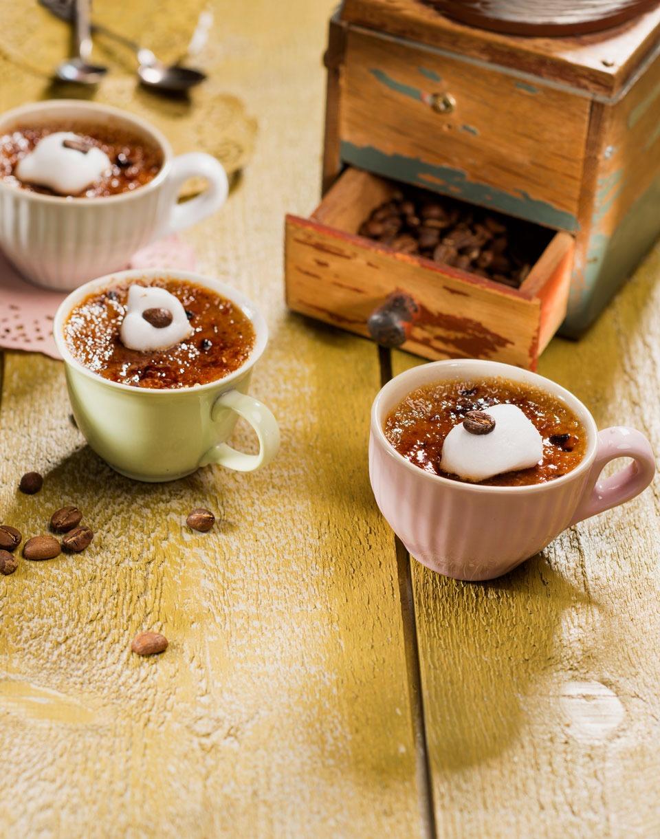 Kaffee-Creme-Brulee