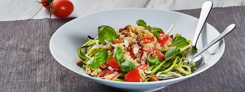 Zoodle Salat