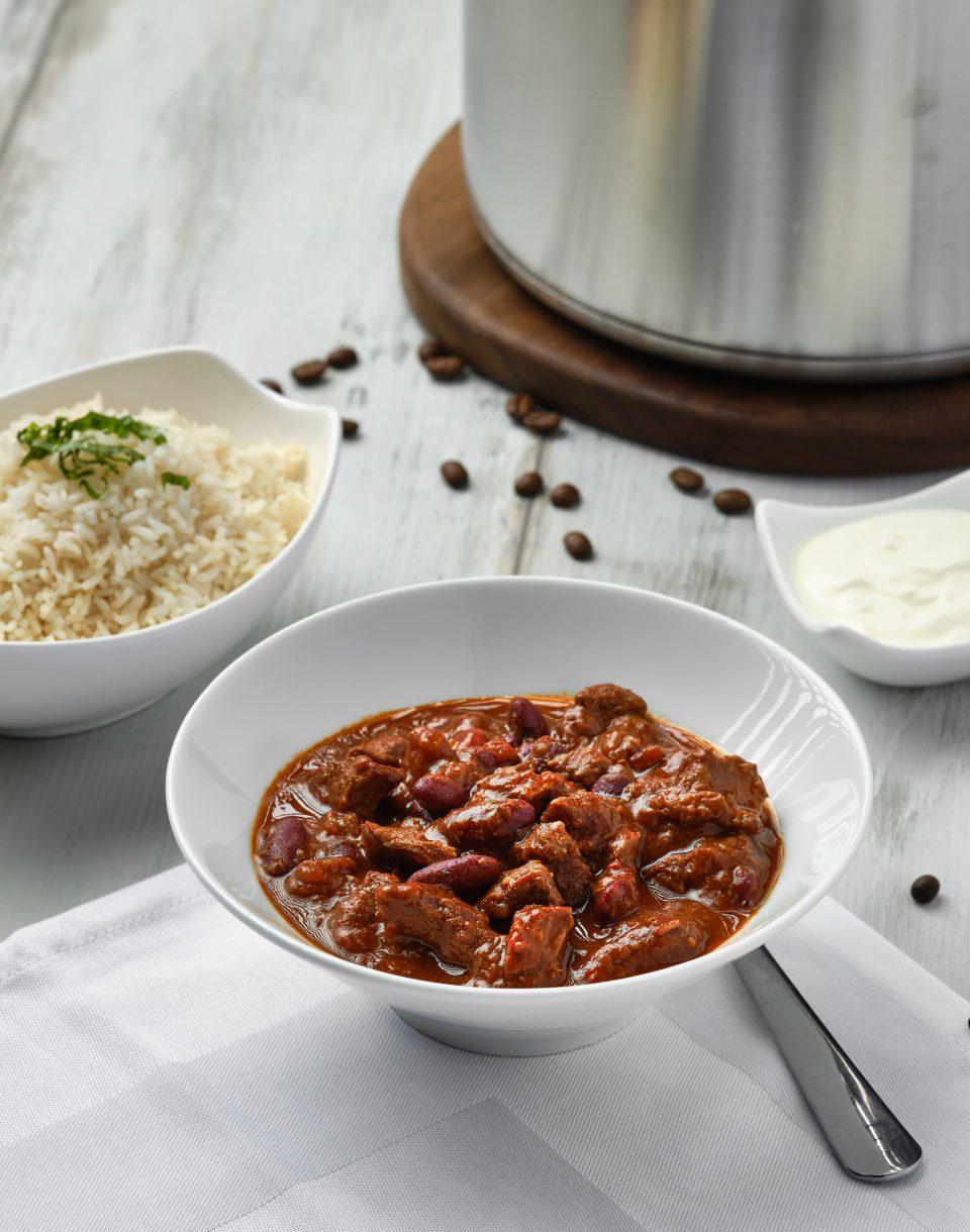 nfu Chili con Carne mit Kaffee