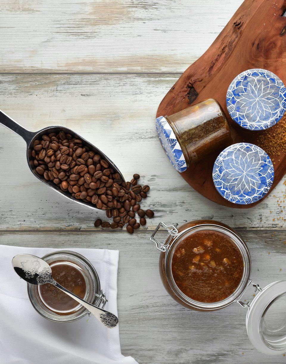 Kaffee-Bananen-Marmelade